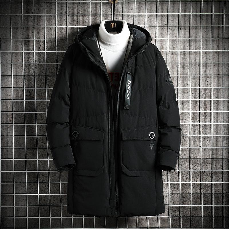 YY1820男士棉衣2020新款冬季韩版潮流棉服防风加厚外套中长款棉袄潮