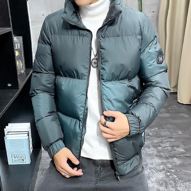 YY8228男士棉衣2020新款冬季韩版潮流棉服防风加厚外套短款棉袄潮