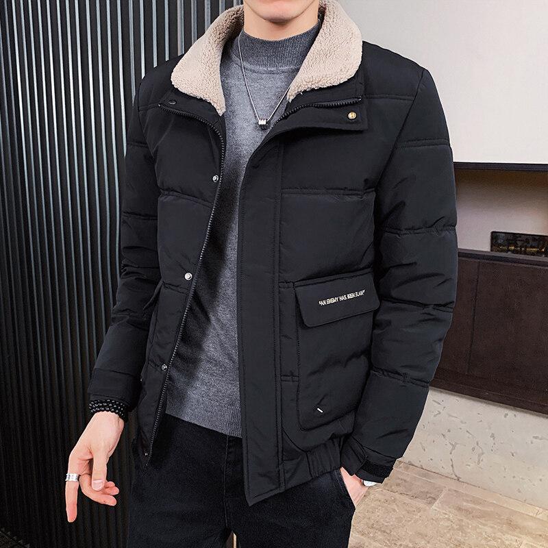 YY8828男士棉衣2020新款冬季韩版潮流棉服防风加厚外套短款棉袄潮