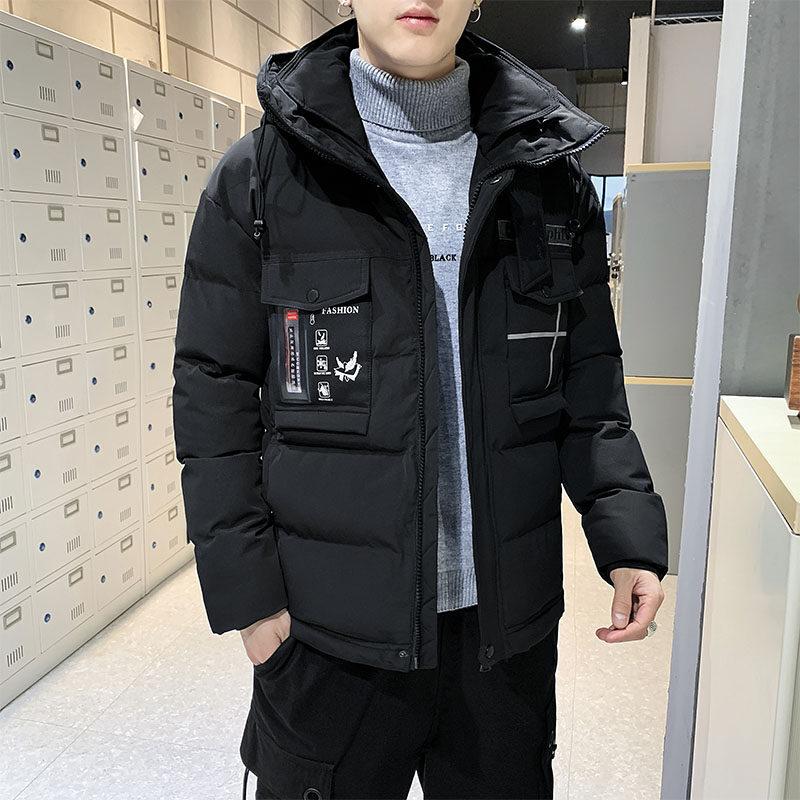 YY8988男士棉衣2020新款冬季韩版潮流棉服防风加厚外套短款棉袄潮