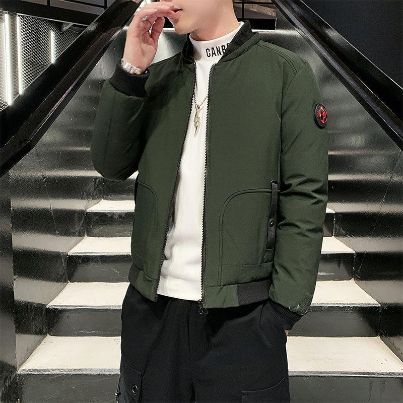 YY18082男士棉衣2020新款冬季韩版潮流棉服防风加厚外套短款棉袄潮