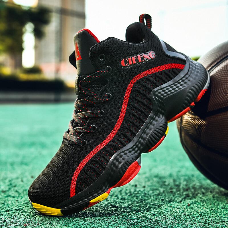 2108飞织网面篮球鞋2108飞织网面透气清爽柔软舒适轻便软弹防滑耐磨篮球鞋