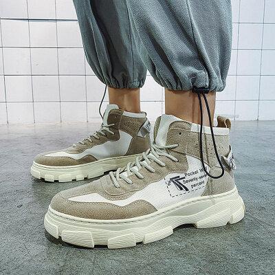 【誉诚鞋业- AS877-注塑】爆款工装马丁靴子-40元