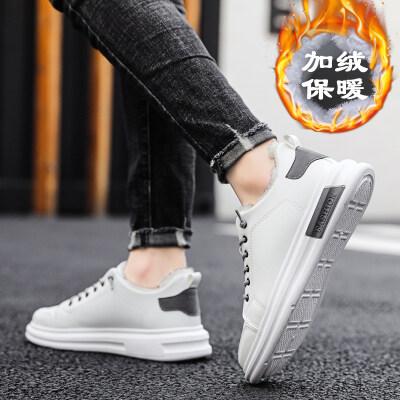 【誉诚鞋业-S15-注塑】加绒爆款运动板鞋-特价33元