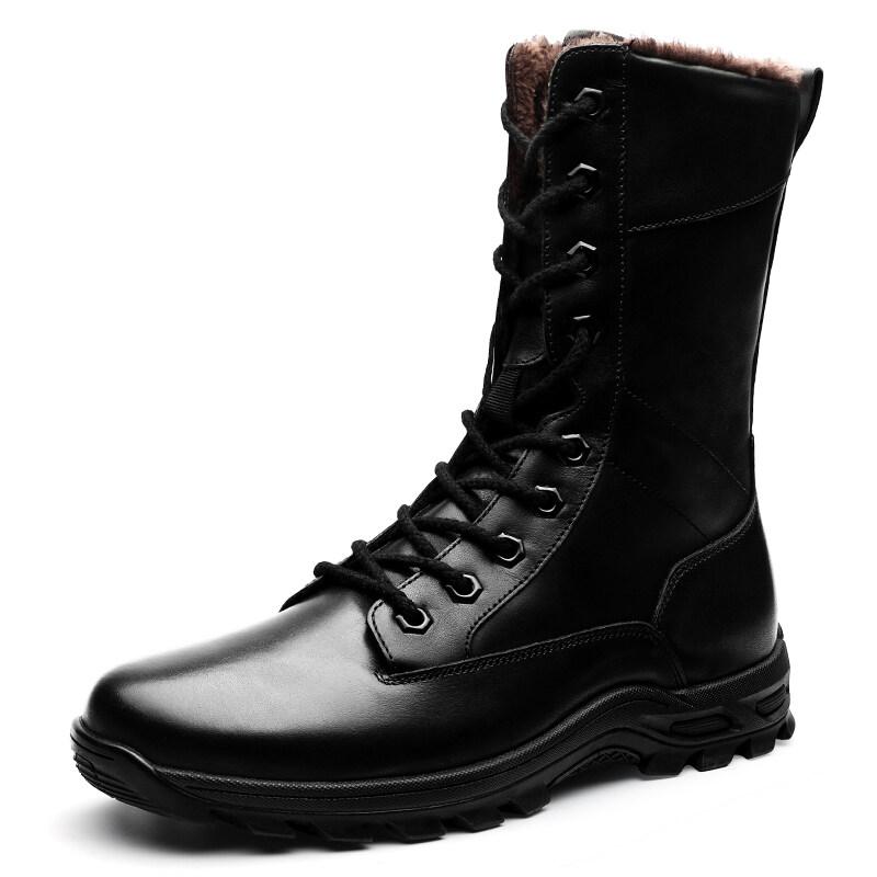 00260众赢00260高帮军靴37-45批125平底+增高 单鞋+棉