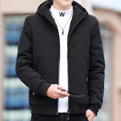 棉衣男士冬季外套2020新款韩版潮流短款加厚羽绒棉服工装棉袄潮牌