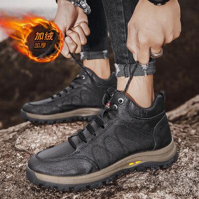 【誉诚鞋业80372-注塑】二类爆款高帮登山鞋-特价46元