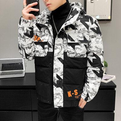 2020新款男装棉衣冬季外套韩版男士夹克棉服