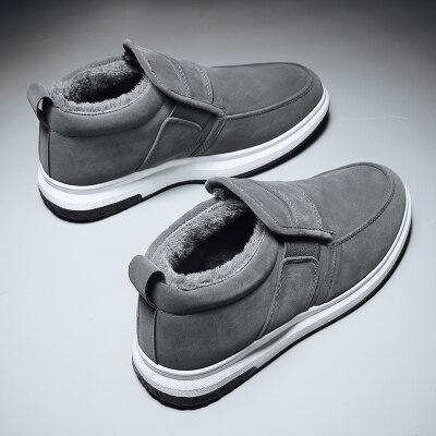 涌哥★M9988 冬季棉鞋加绒男鞋高帮鞋板鞋运动鞋户外鞋潮鞋