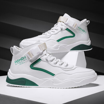 新款全超纤休闲板鞋潮鞋小白鞋