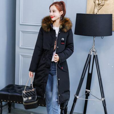 双面穿棉衣女中长款2020冬外套韩版棉袄修身显瘦ins棉服