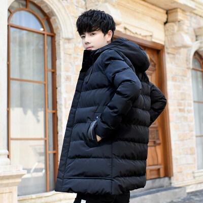 2020男士棉衣中长2020新款秋冬季韩版潮流加厚冬装羽绒棉