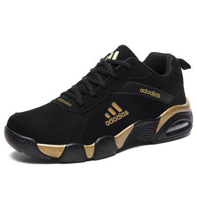 爆款2996 皮面新款气垫加绒运动休闲男女跑步鞋学生百搭