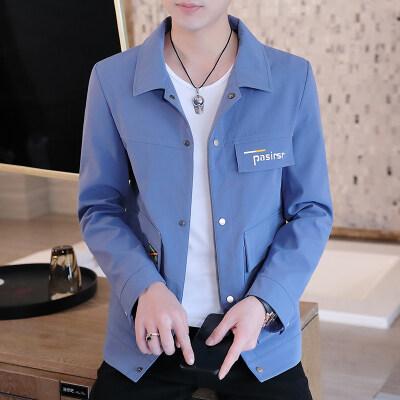 2021春季男士外套外套男韩版潮流工装直筒夹克春款DS209-P45