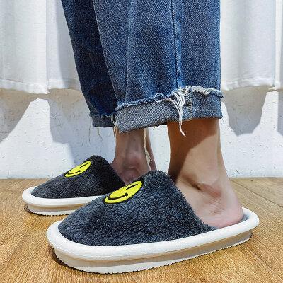 【誉诚鞋业-PFJJ11-注塑】保暖加绒家居棉拖-特价20元