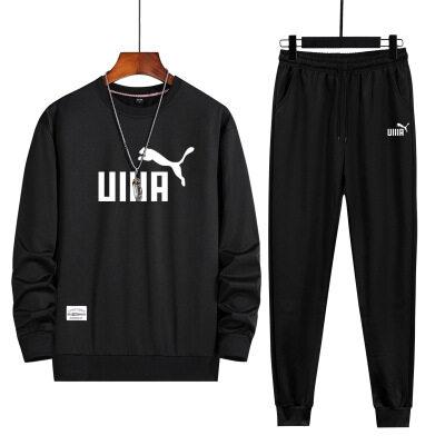 休闲运动套装男士秋冬季2020年新款韩版潮流帅气两件套青少年搭配