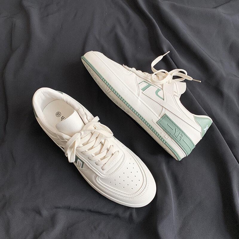 XZ517-1 XZ9767 P58小白鞋男韩版百搭夏季透气chic板鞋男运动鞋 XZ517-1 XZ9767 P58