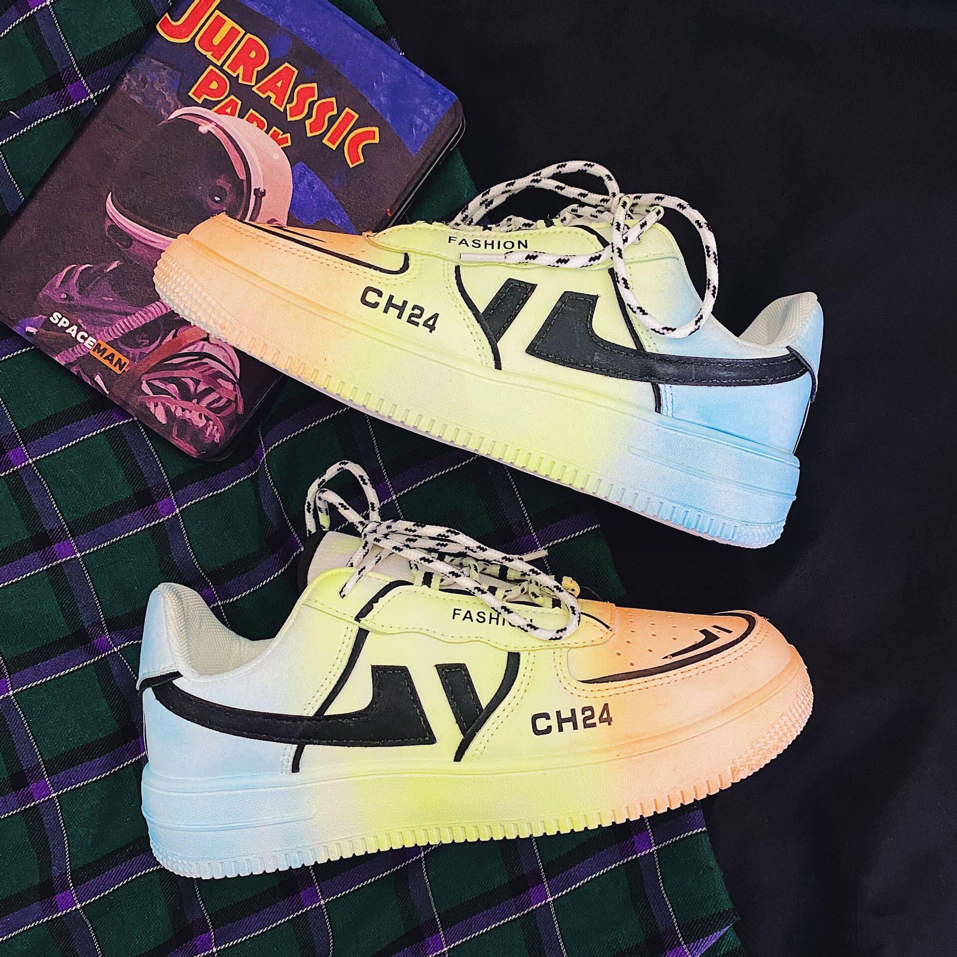 XZ517-1 XZ016 P60秋季新款ins超火板鞋休闲FB原宿学生运动鞋男 XZ517-1 XZ016 P60