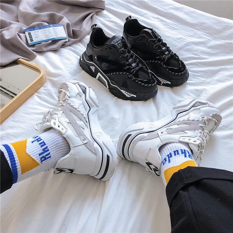XZ517-1 XZ907 P58男士老爹鞋厚底潮流男鞋韩版ing学生鞋运动鞋 XZ517-1 XZ907 P58