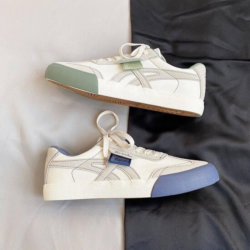XZ517-1 XZ9782 P482020秋季新款帆布鞋男潮流百搭小白鞋男板鞋 XZ517-1 XZ9782 P48