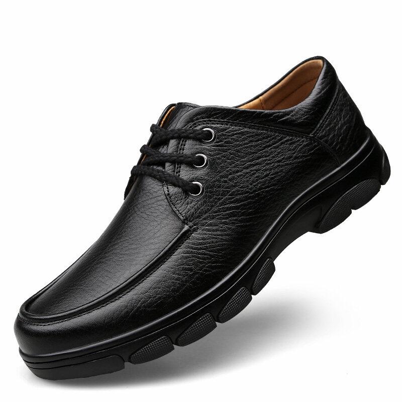 88017正阳88017头层牛皮休闲皮鞋36-46标准皮鞋码p130
