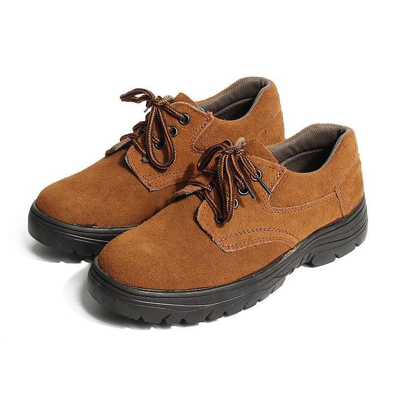 w85318076985u防砸劳保鞋男钢包头四季款低帮大头鞋工作鞋防滑工地耐磨焊工