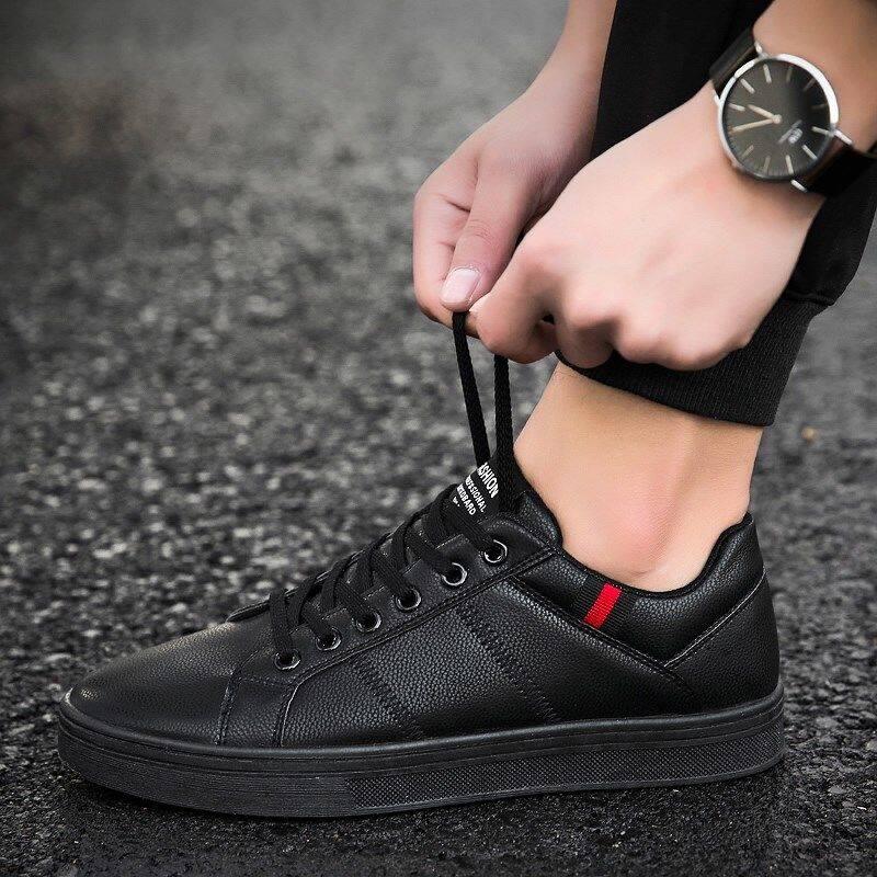 w4429599442u厨师鞋男防滑厨房专用鞋商务小皮鞋全黑色皮鞋休闲上班工作鞋
