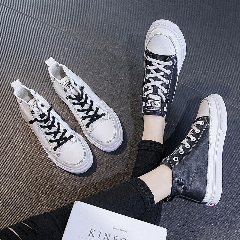 A9316开春新款!韩版春季新款真皮2020小白鞋35-40小视频找我