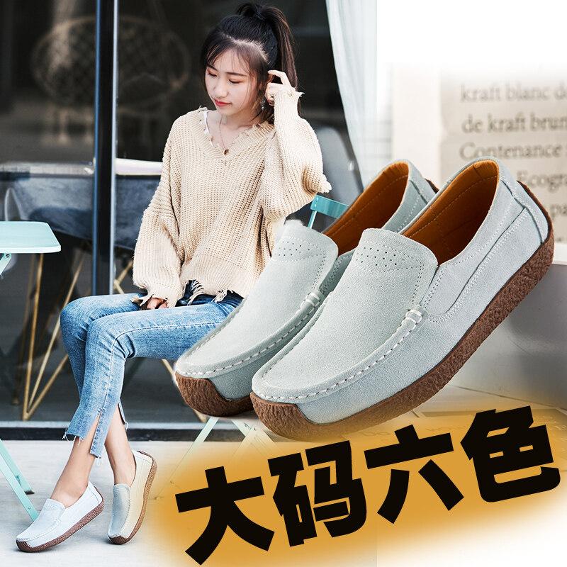 Y526Y526复古女鞋6色号35-43 批45长年供货款大码女鞋