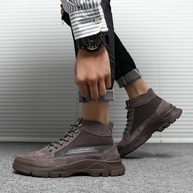768迪尔奇768秋冬爆款猪皮工装马丁男鞋38-44皮鞋码P98.