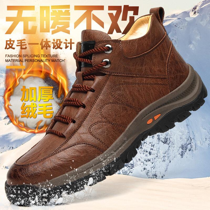 290迪尔奇290秋冬爆款加绒超纤皮工装马丁靴38-44皮鞋码P7