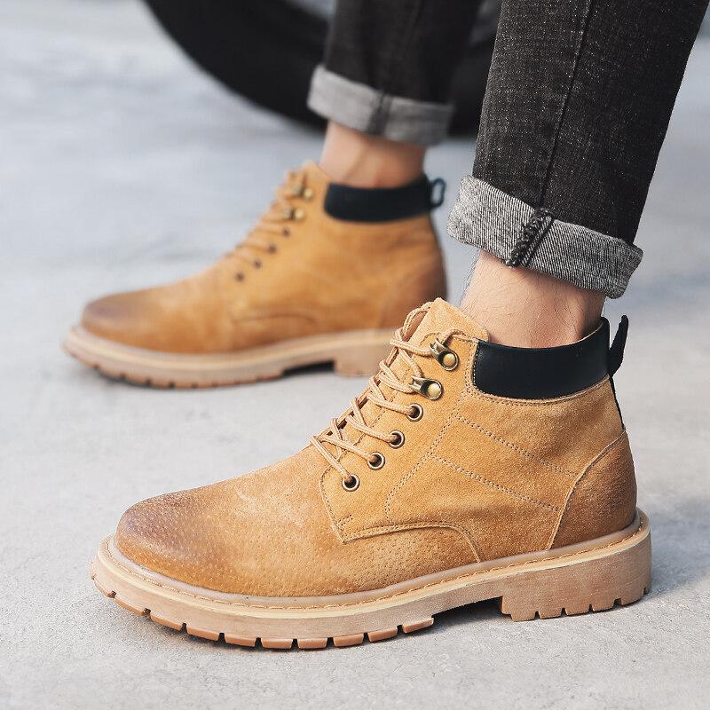 96720迪尔奇96720新品真皮爆款工装马丁靴38-44皮鞋码P95