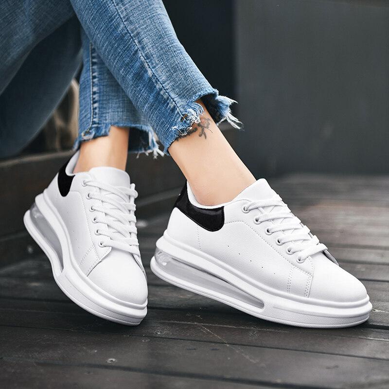 1951迪尔奇鞋业1951 新款爆款 超纤气垫小白鞋