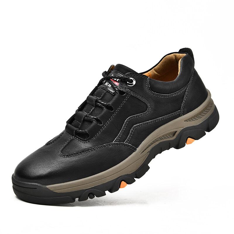 8272021户外冬季登山鞋防滑休闲男鞋厚底男鞋