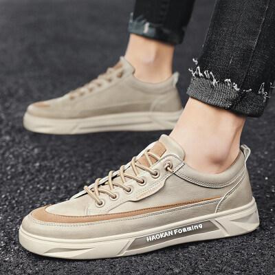 【誉诚鞋业T07-注塑】春季时尚休闲韩版潮鞋板鞋-42元