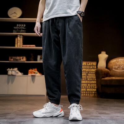 日系-马切达  K2067-P28  100%聚酯纤维  2021春季新款休闲裤长裤