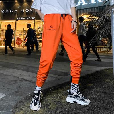 2021裤子女条纹纯色束脚哈伦休闲裤运动裤 2004-P25(女装类目)