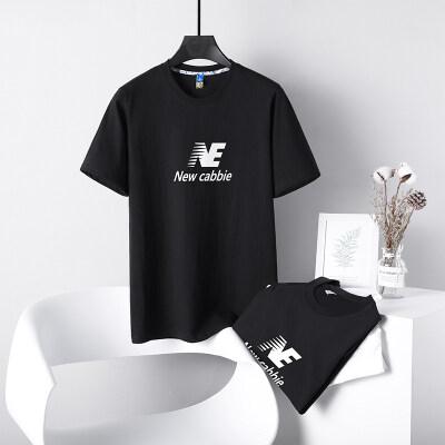 2021夏季男士短袖t恤潮明星同流潮牌宽松纯棉上衣余文乐同款