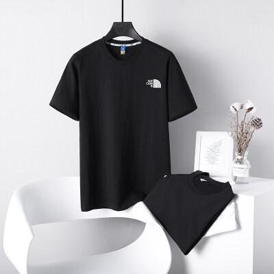 2021夏季男士短袖t恤潮流潮牌宽松纯棉上衣