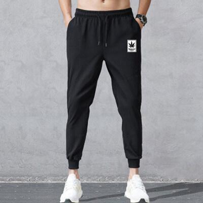 常年做主推大货休闲裤男宽松运动裤束脚潮流工作黑色长裤K003-P12