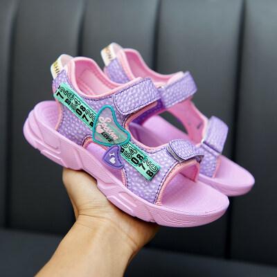 女童鞋凉鞋2021新款夏季儿童鞋子厂家批发找分销