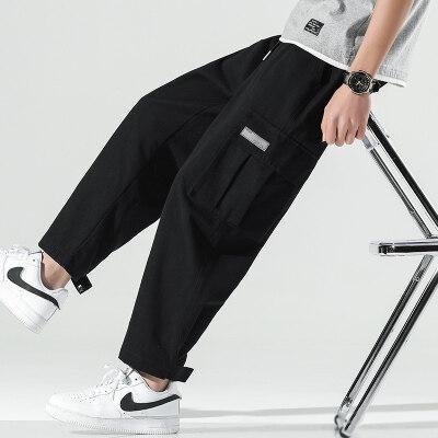 日系无影墙  K019-P37   100%聚酯纤维   2021夏季新款休闲裤