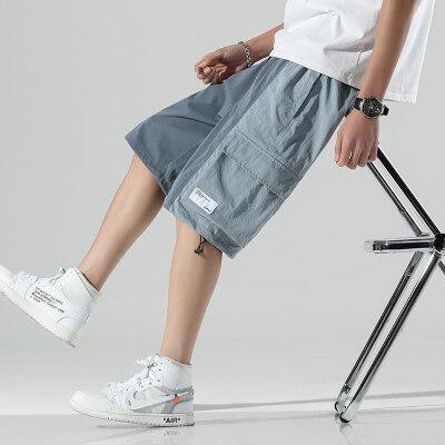 日系无影墙  K015-P35   100%聚酯纤维   2021夏季新款休闲裤