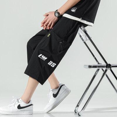 日系无影墙  K017-P33   100%聚酯纤维   2021夏季新款休闲裤