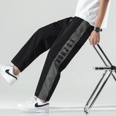 日系无影墙  K013-P33   100%聚酯纤维   2021夏季新款休闲裤