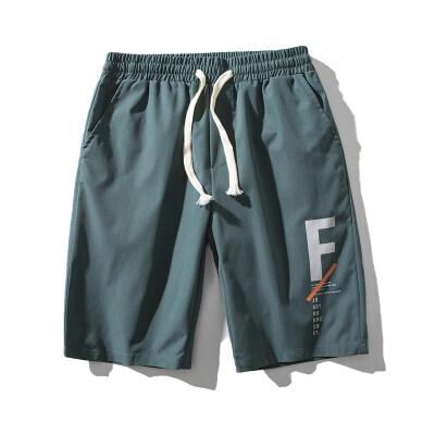 跑量 2021新款男士五分短休闲裤夏季男短裤日系中裤大码K119-P15