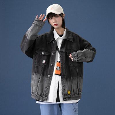 2021春季新款中性风格女装牛仔外套022P70