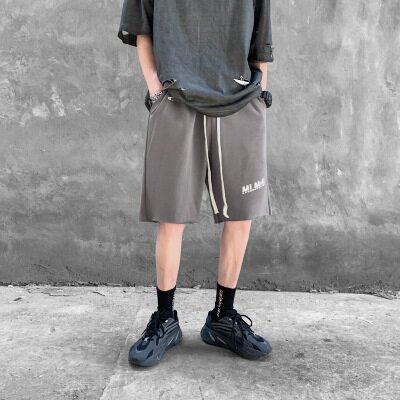 夏新品舒适休闲纯色宽松潮牌运动短裤五分裤XZ-221-1-K1001-P30