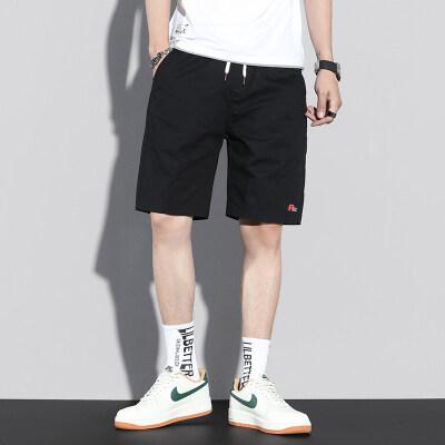 夏季薄款短裤男宽松休闲五分裤韩版潮流潮牌百搭运动裤子Z611-P35