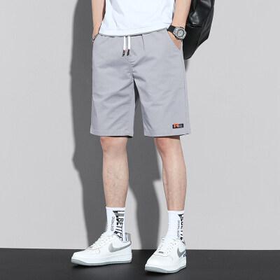 夏季新款短裤男休闲五分裤潮流潮牌青少年短裤子韩版夏装Z611-P35